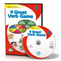 Gra językowa The Great Verb Game - CD-ROM - 9788853614131
