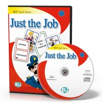 Gra językowa Just the Job - CD-ROM - 9788853614018