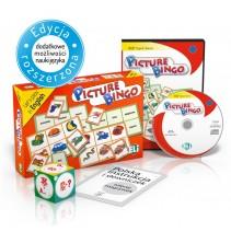 Gra językowa Picture Bingo - wersja tradycyjna + CD-ROM - 9788853613882