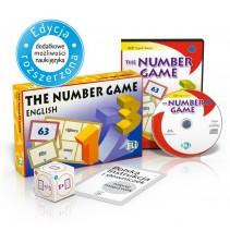 Gra językowa The Number Game - wersja tradycyjna + CD-ROM - 9788853613929