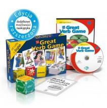 Gra językowa The Great Verb Game - wersja tradycyjna + CD-ROM - 9788853614148