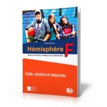 Hémisphère F - Guide, solutions et ressources - 9788853613370