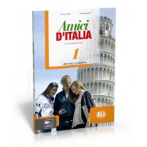 ELI PUBLISHING (ELI European Language Institute) - Amici d'Italia 1 libro dello studente - podręcznik ucznia - 9788853615114
