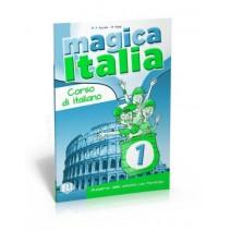 Magica Italia 1 - quaderno delle attività con portfolio - zeszyt ćwiczeń - 9788853614841