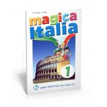 Magica Italia 1 - guida didattica con audio CD - 9788853614858