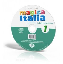 Magica Italia 1 - libro digitale - CD-ROM - 9788853614872