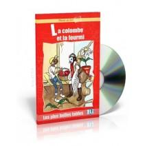 La colombe et la fourmi + CD audio - 9788881487998