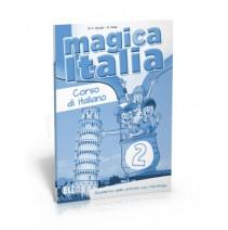 Magica Italia 2 - quaderno delle attività con portfolio - zeszyt ćwiczeń - 9788853614896