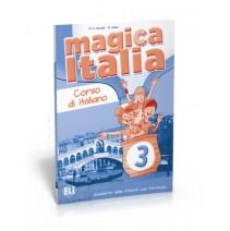 Magica Italia 3 - quaderno delle attività con portfolio - zeszyt ćwiczeń - 9788853614940