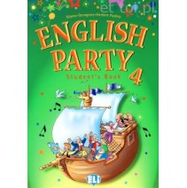 English Party 4 Student's Book - 9788853601001