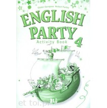 English Party 4 Activity Book - 9788853601049