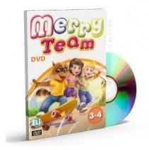 Merry Team DVD (level 3-4) - 9788853612212