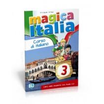 Magica Italia 3 - libro dello studente con audio CD - podręcznik ucznia - 9788853614933
