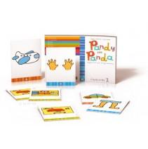 Karty obrazkowe flashcards dla 4-latków (Pandy the Panda) - 9788853605894