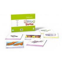 Karty obrazkowe flashcards dla dzieci część 1 (Merry Team) - 9788853611093