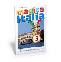 Magica Italia 3 - guida didattica con 2 audio CD - 9788853614957