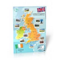 British Isles Map - poster cywilizacyjny - mapa ścienna - 9788393511624