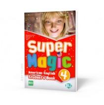 Super Magic 4 - Student's Book - 9788853617842