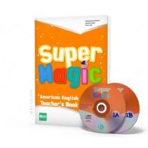 Super Magic 1 - Teacher's Book + 2 CD Audio - 9788853617729