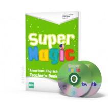 Super Magic 2 - Teacher's Book + 2 CD Audio - 9788853617781