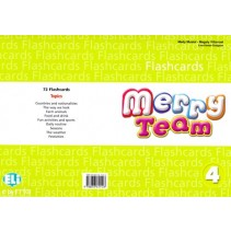 Merry Team 4 Flashcards - 9788853611123