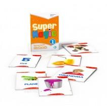 Karty obrazkowe flashcards dla dzieci część 1 (Super Magic) - 9788853617682