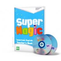 Super Magic 3 - Teacher's Book + 2 CD Audio - 9788853617835
