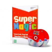 Super Magic 4 - Teacher's Book + 2 CD Audio - 9788853617880