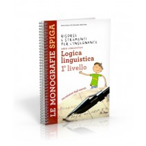 Logica linguistica 1° livello - 9788846829153