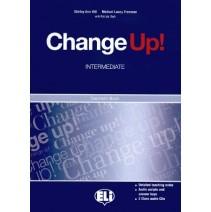 Change Up! Intermediate - Teacher's Book + 2 class audio CD - 9788853604170