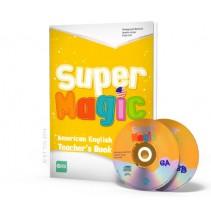 Super Magic 6 - Teacher's Book + 2 CD Audio - 9788853617989