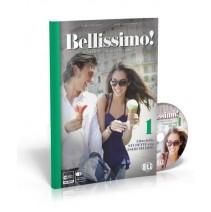 Bellissimo! 1 - Libro dello studente con eserciziario + Audio CD - podręcznik z ćwiczeniami - 9788853618207