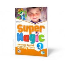 Super Magic 1 - Activity Book - 9788853617668