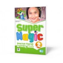 Super Magic 2 - Activity Book - 9788853617743