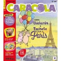 Caracola - język hiszpański - prenumerata na 10 numerów