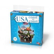 USA Coast to Coast - gra językowo-cywilizacyjna - 9788364730993