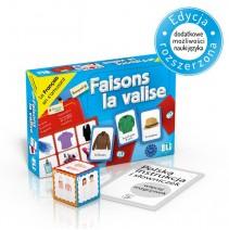 Faisons la valise - gra językowa z polską instrukcją i suplementem - 9788853619273