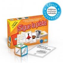 ¡Sigue la pista! - gra językowa z polską instrukcją i suplementem - 9788853619341