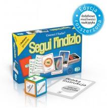 Segui l'indizio - gra językowa z polską instrukcją i suplementem - 9788853619358