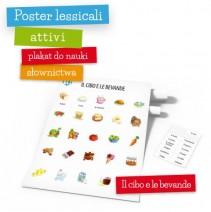 Poster lessicali attivi - Il cibo e le bevande - 9788364730306