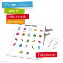 Poster lessicali attivi - L'abbigliamento - 9788364730313