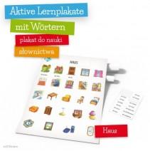 Aktive Lernplakate mit Wörtern - Haus - 9788364730443
