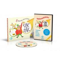 Sing a Song książka + DVD-ROM - angielskie piosenki karaoke dla dzieci - 9788885148390