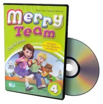 Merry Team 4 Digital Book - CD-ROM - 9788853607416