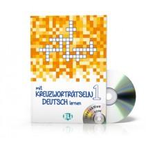 Mit Kreuzworträtseln Deutsch lernen 1 + CD-ROM - 9788853619181