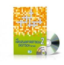 Mit Kreuzworträtseln Deutsch lernen 2 + CD-ROM - 9788853619198