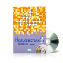 Mit Kreuzworträtseln Deutsch lernen 3 + CD-ROM - 9788853619204