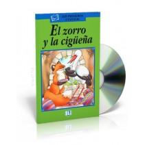 El zorro y la cigüeña + CD audio - 9788881487189