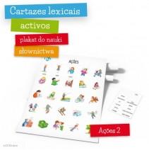 Cartazes lexicais activos -  Ações – parte 2 - 9788364730726