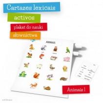 Cartazes lexicais activos - Animais – parte 1 - 9788364730733